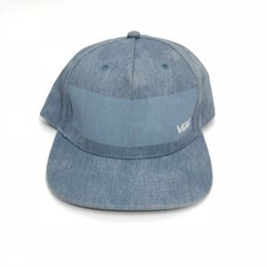 "Vans Men's Snap Back Hat ""EDENTON"" Denim"